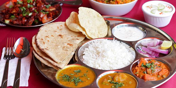 Punjabi Thali from Shivam Restaurant in Little India, Singapore