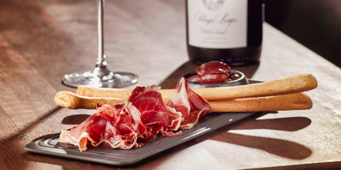 Wine and Charcuterie from Stags