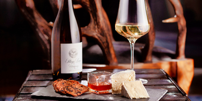Wine and Cheese from Stags