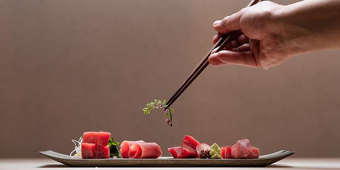 Sashimi from Sushi Ayumu in Orchard, Singapore