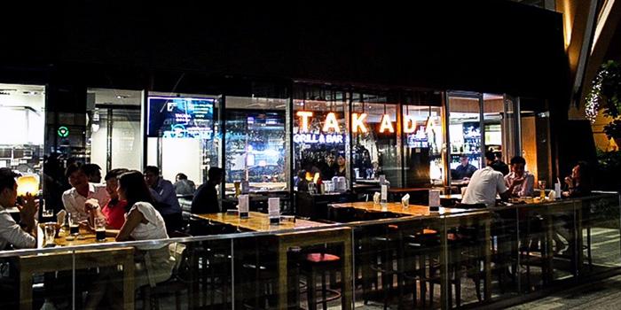 Exterior of Takada Grill & Bar in Tanjong Pagar, Singapore