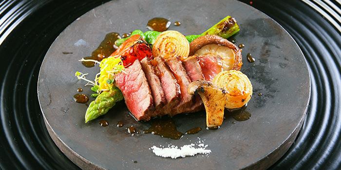 Beef Steak from Teppan Kappou Kenji at Tanjong Pagar, Singapore