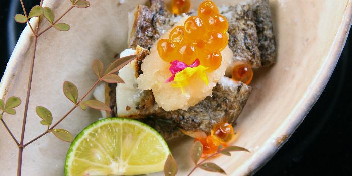 Seasonal Fish Cheek from Teppan Kappou Kenji at Tanjong Pagar, Singapore
