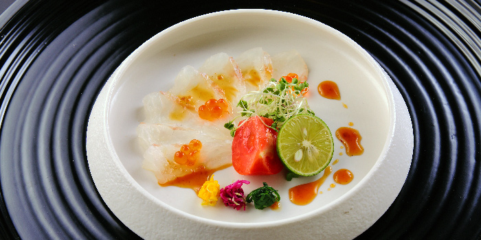 Fish Carpaccio from Teppan Kappou Kenji at Tanjong Pagar, Singapore
