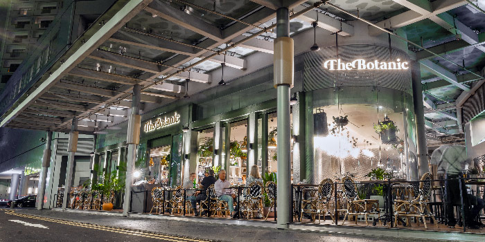 Exterior of The Botanic Restaurant at Raffles City Shopping Centre in City Hall, Singapore