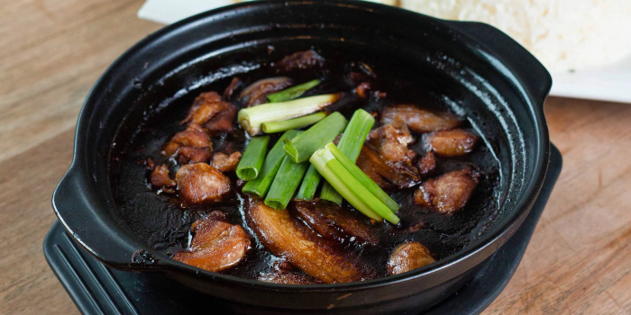 Ginger Chicken from The Lazy Garden Cafe in City Square Mall in Little India, Singapore