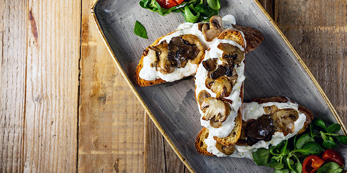 Crostini E Funghi from The Mast