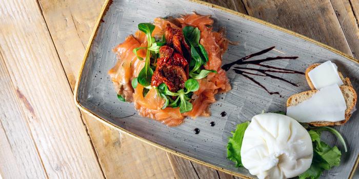Mozzarella Salmone from The Mast