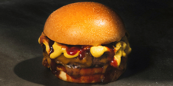 Burger from Three Buns Quayside in Robertson Quay, Singapore