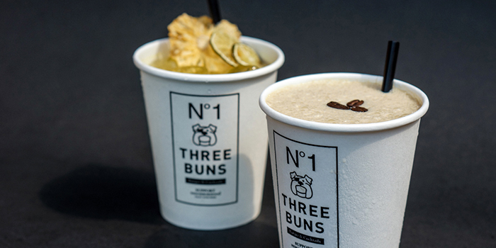 Cocktails from Three Buns Quayside in Robertson Quay, Singapore