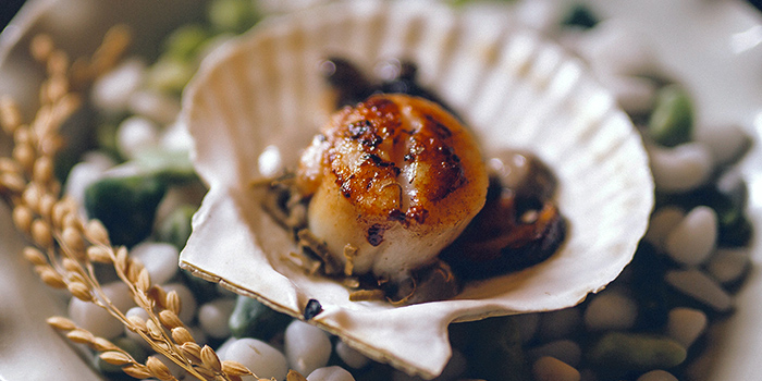 Scallops from Caffé B at Club Street, Singapore