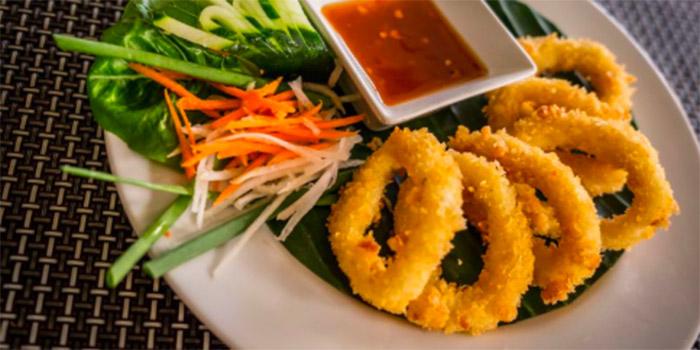 Calamari from Lemongrass Thai Restaurant, Legian, Bali