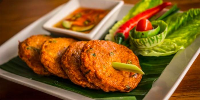 Fish Cake from Lemongrass Thai Restaurant, Legian, Bali