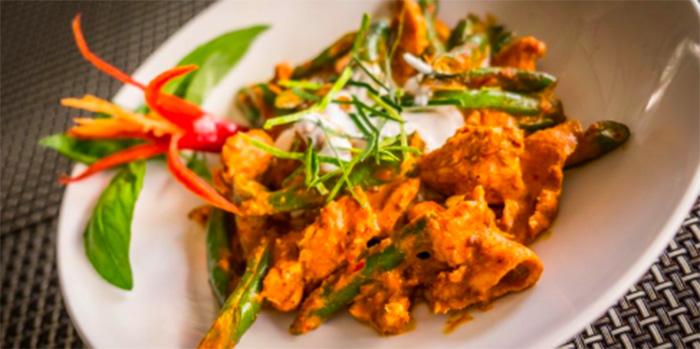 Penang Curry from Lemongrass Thai Restaurant, Legian, Bali