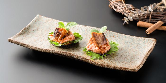 Shiso Marinated Tuna Tartare with Foie Gras, CÉ LA VI Restaurant Hong Kong, Lan Kwai Fong, Hong Kong