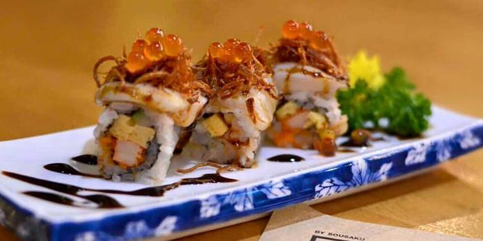 Sushi from Shun Sushi in Phuket Town, Phuket, Thailand