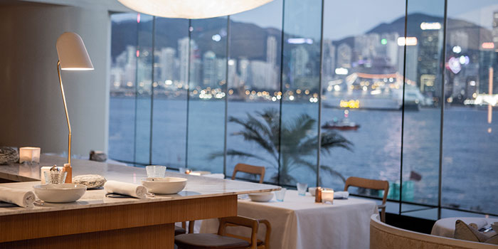 Table View, Rech by Alain Ducasse, Tsim Sha Tsui, Hong Kong