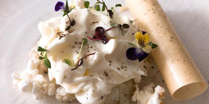 Vegetables Phyllo Pastry & Zucchini Flower Tempura from Ganglamedo Vegetarian Cuisine in Tanjong Pagar, Singapore