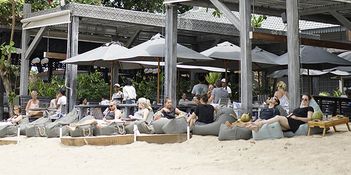 Ambience at Soul on the Beach, Sanur, Bali