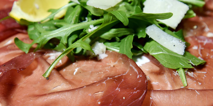 Bresaola Carpaccio Salad, The Italian Club Wine Bar, Steak House & Pizza Gourmet, SOHO, Hong Kong