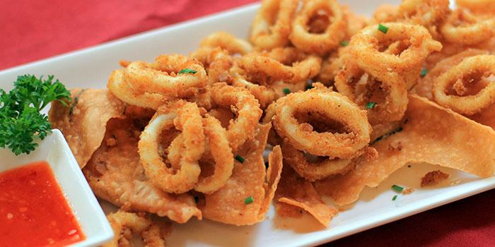 Calamari Squid from Bamboo Bar & Grill Bali