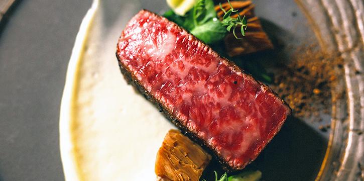 Wagyu Steak from Caffé B at Club Street, Singapore