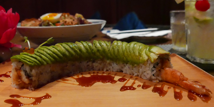 Caterpillars Rolls from In the Mood for Love -ONE- at Ekkamai 1 Alley Khlong Tan Nuea, Watthana Bangkok