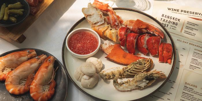 Fresh Seafood from Bangkok Trading Post Bistro & Deli at 59/1 Sukhumvit Soi 39 Klongton-Nua, Wattana Bangkok