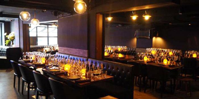 Interior, The Italian Club Wine Bar, Steak House & Pizza Gourmet, SOHO, Hong Kong