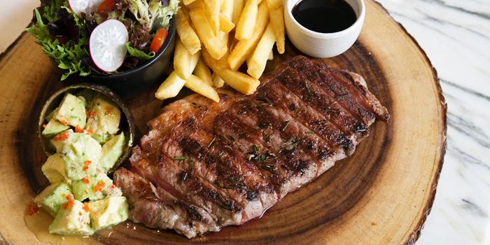 Pan Roasted Rib Eye Steak from Mondo at Hilton Hotel Sukhumvit Bangkok 11 Sukhumvit Soi 24 Bangkok