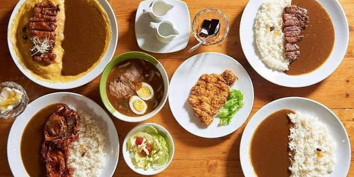 Signature Dishes from Aoringo Curry Bkk at 87 Thonglor 13 Alley Khlong Tan Nuea, Watthana Bangkok