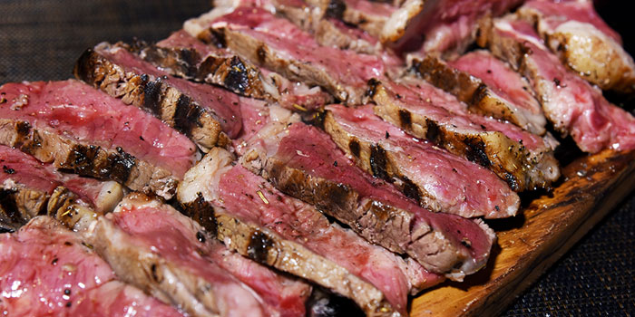 T-bone Steak, The Italian Club Wine Bar, Steak House & Pizza Gourmet, SOHO, Hong Kong