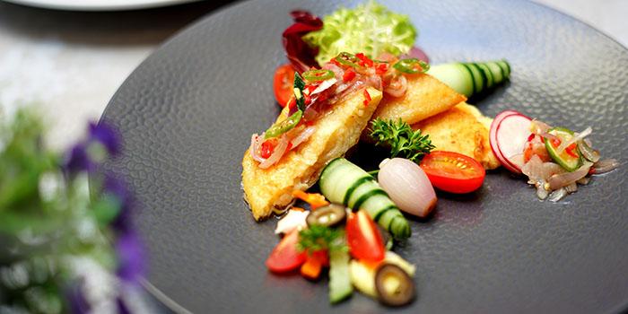 Food from The Deck, Legian, Bali