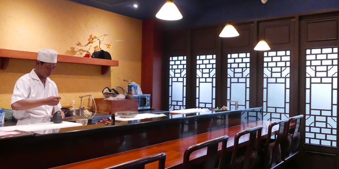 The Sushi Bar of In the Mood for Love -ONE- at Ekkamai 1 Alley Khlong Tan Nuea, Watthana Bangkok