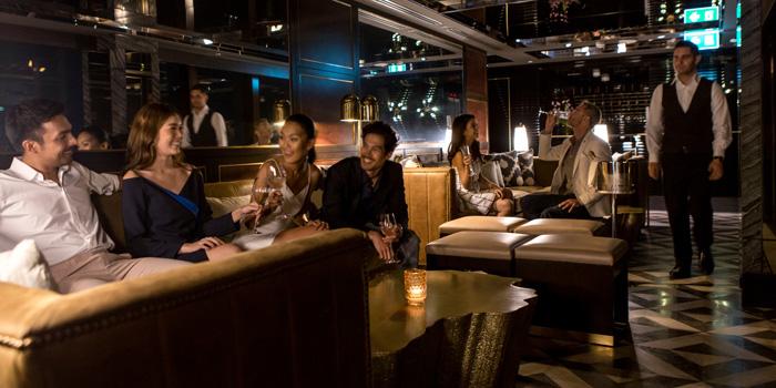 Ambience of Penthouse Bar + Grill at Park Hyatt Bangkok, Bangkok