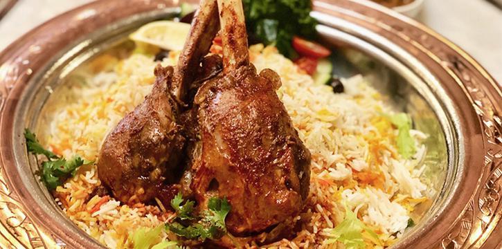 Lamb Mandi from Lubnan Authentic Lebanese Cuisine in Bugis, Singapore