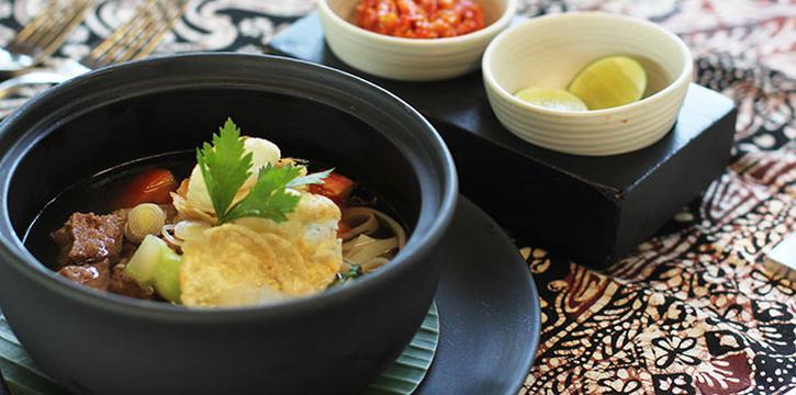 Food from Tetaring Restaurant, Nusa Dua, Bali