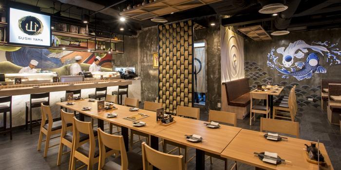 Ambience of Sushi Yama at CP Tower1 (Silom) 313 Silom 2/1 Silom, Bang Rak Bangkok