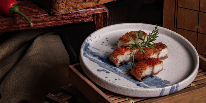 BBQ Eel, Yat Tung Heen, Jordan, Hong Kong