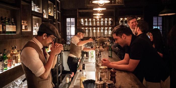 Bar Area from Harvest in Upper Sukhumvit, Bangkok