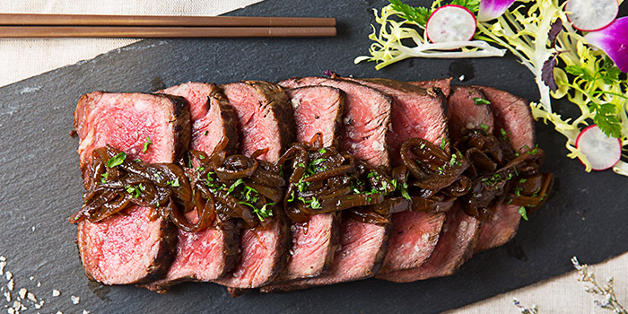 Beef Tataki from Revel Bistro & Bar at Marina Square in City Hall, Singapore