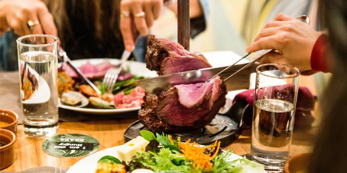 Dining Table, Braza Churrascaria Brazilian Steakhouse, Central, Hong Kong