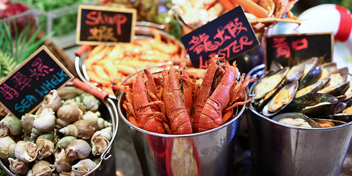 Chilled Seafood, Cafe Marco, Tsim Sha Tsui, Hong Kong