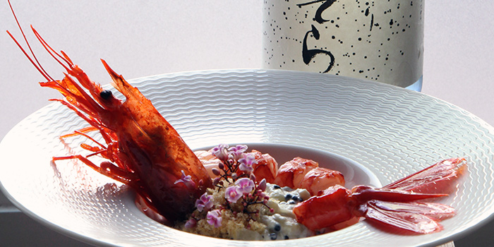 Carabinero Prawn from BAM! Restaurant on Tras Street in Tanjong Pagar, Singapore