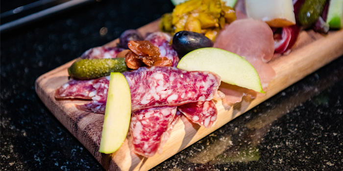Charcuterie-Board from Prime at The Nai Harn, Phuket, Thailand.