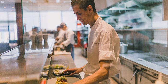 Chef Simon Guthridge, Mandarin Grill + Bar, Central, Hong Kong