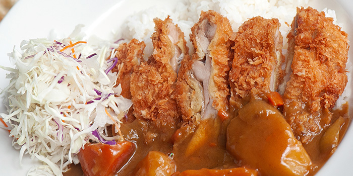 Chicken Katsu Curry at Greenhouse Cafe in Design Hub at Tuas, Singapore
