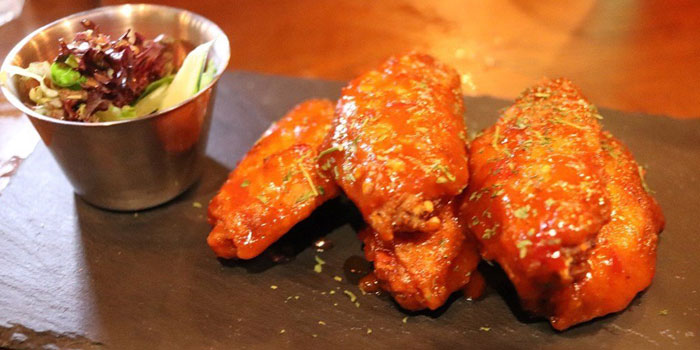 Chicken Wings with Honey Musta, The Trafalgar Brewing Company (Mong Kok), Mong Kok, Hong Kong