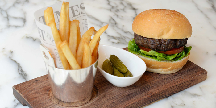 Classic Burger, Café Causette, Central, Hong Kong