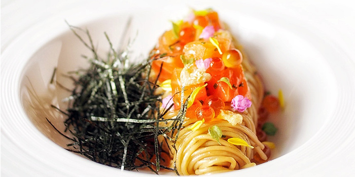 Cold Capellini from BAM! Restaurant on Tras Street in Tanjong Pagar, Singapore